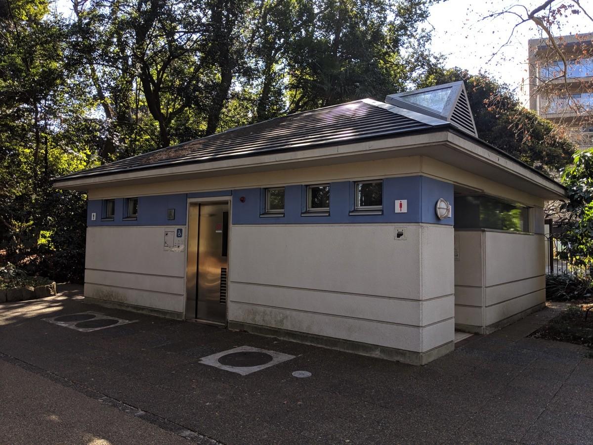 千駄ヶ谷近くのトイレ