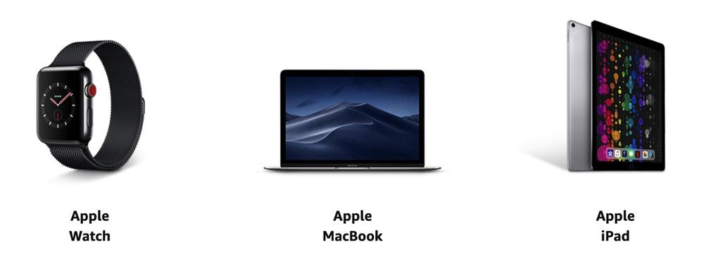 Apple Watch、MacBook、iPadがタイムセールに