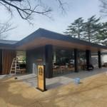 新宿御苑内のスターバックス、オープン日は3月20日頃か