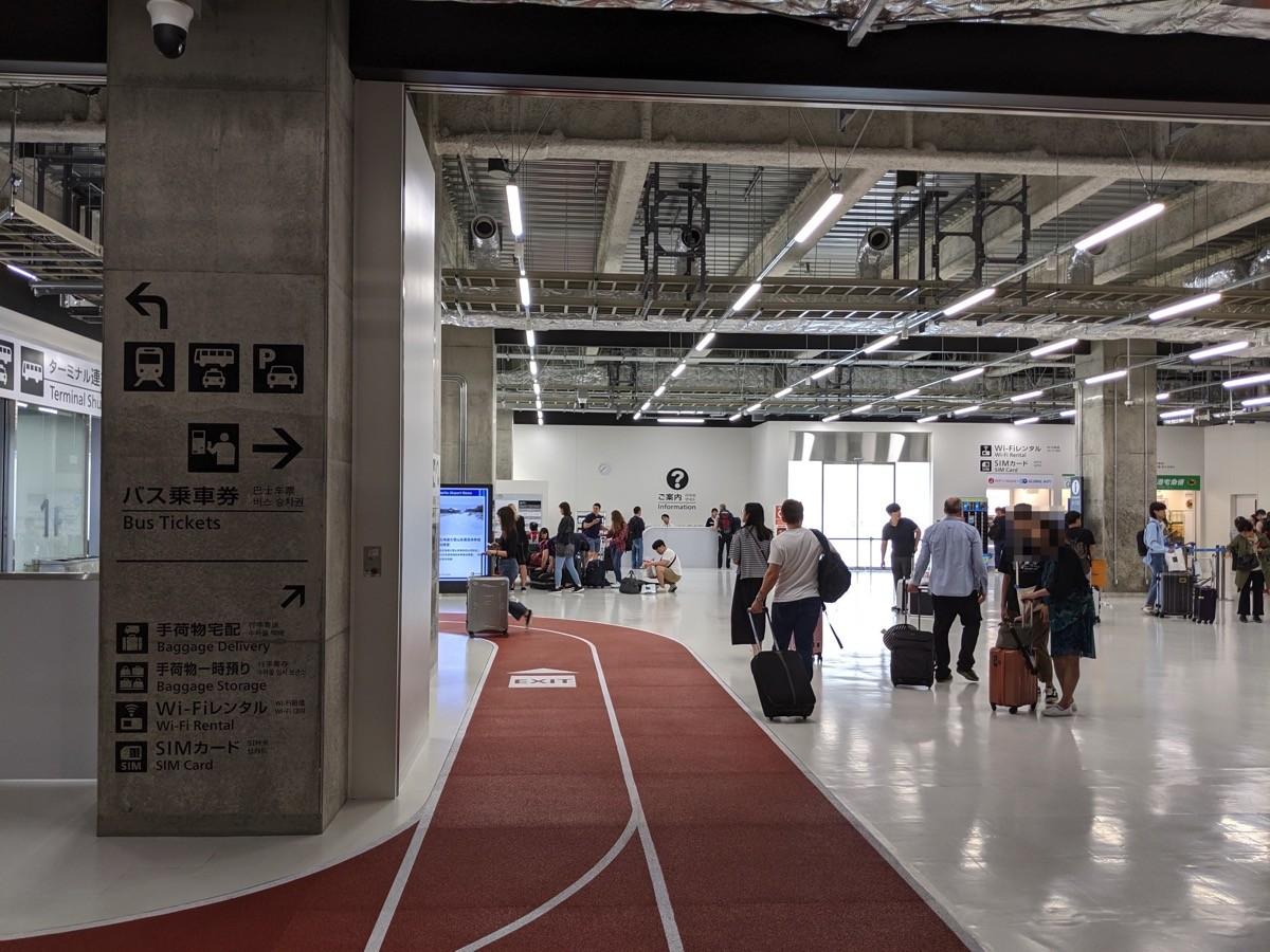 成田空港第3ターミナル(到着ロビー)
