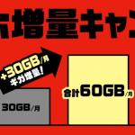 ギガホが60GBに増量されるのでシェアパック50を解約