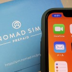 Nomad SIM PrepaidをiPhone 11 Proで使う。セットアップ不要でテザリングも可