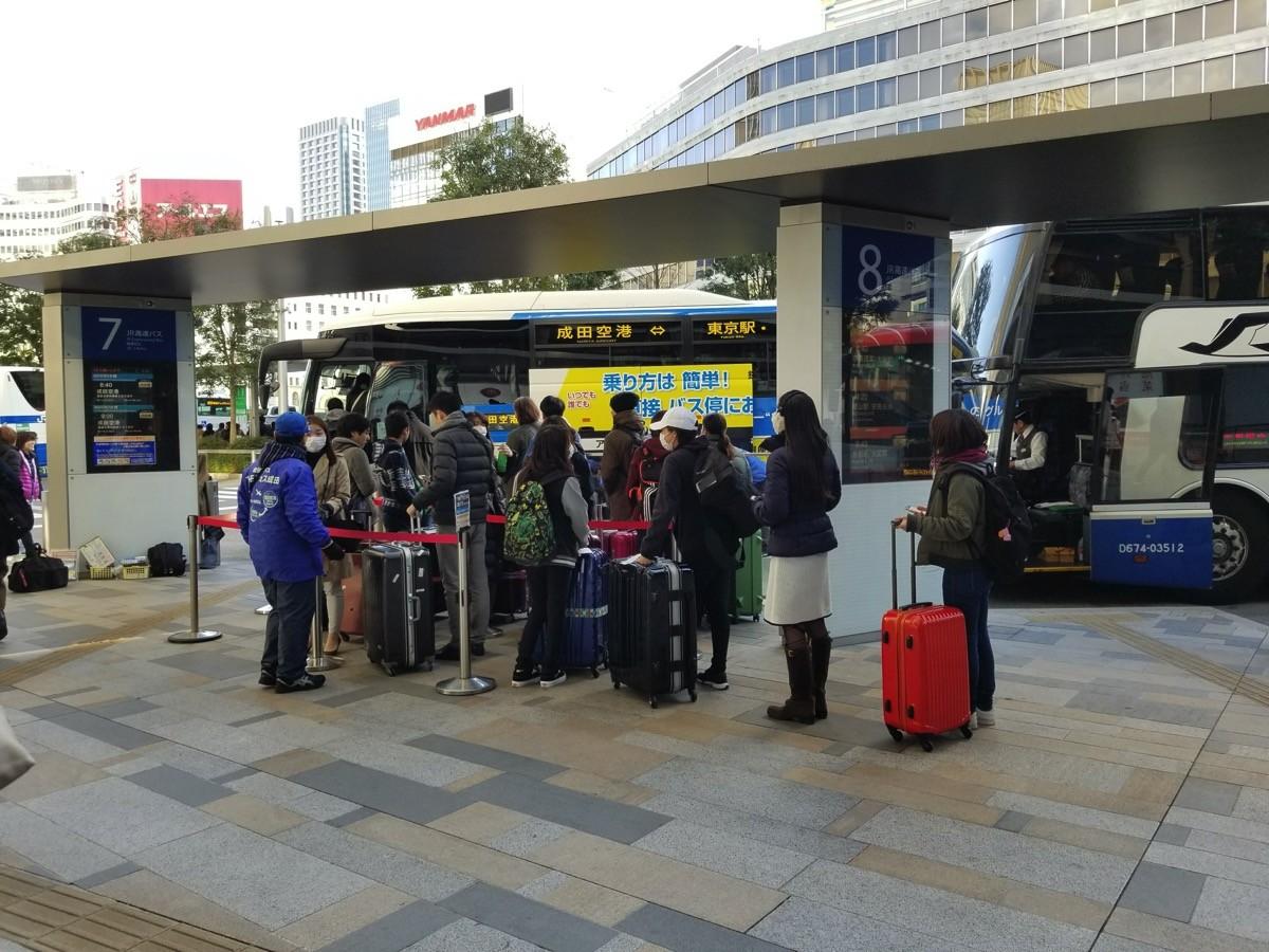 東京駅の乗り場はJR高速バス乗り場に統合