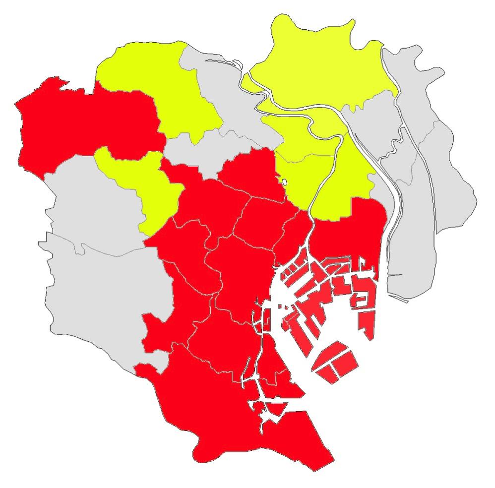 東京都23区のシェアサイクル提供状況