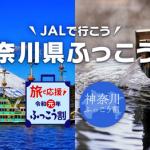 【JALパック】1人1泊5,000円割引「神奈川県ふっこう割」を発売、1人でも割引ok