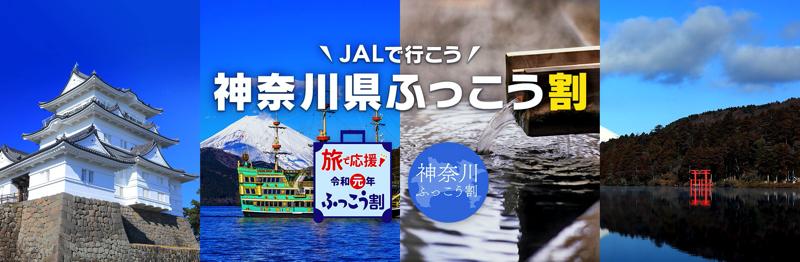 JALダイナミックパッケージ 神奈川県ふっこう割 – 国内ツアー・旅行ならJALパック