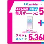 UQ、スマホとWiMAX 2+のセット割引を月額500円に増額、UQ新プランが対象