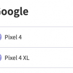 Pixel 4/4 XLが楽天モバイル自社回線に対応、nanoSIM・eSIMが利用可