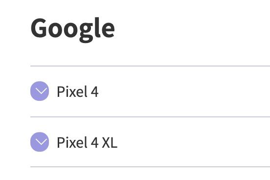 Pixel 4シリーズが楽天回線対応製品に追加