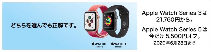 ビックカメラ:Apple Watchを割引