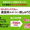 【ドコモ】音声通話オプションを700円×12カ月割引する「おしゃべり割」提供