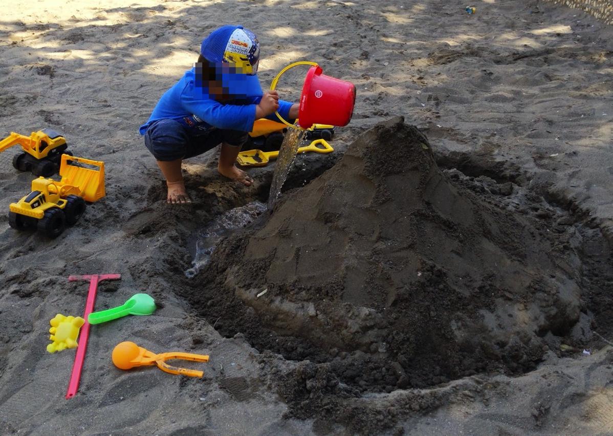 砂・泥まみれのまま帰ってもすぐに風呂に入れる