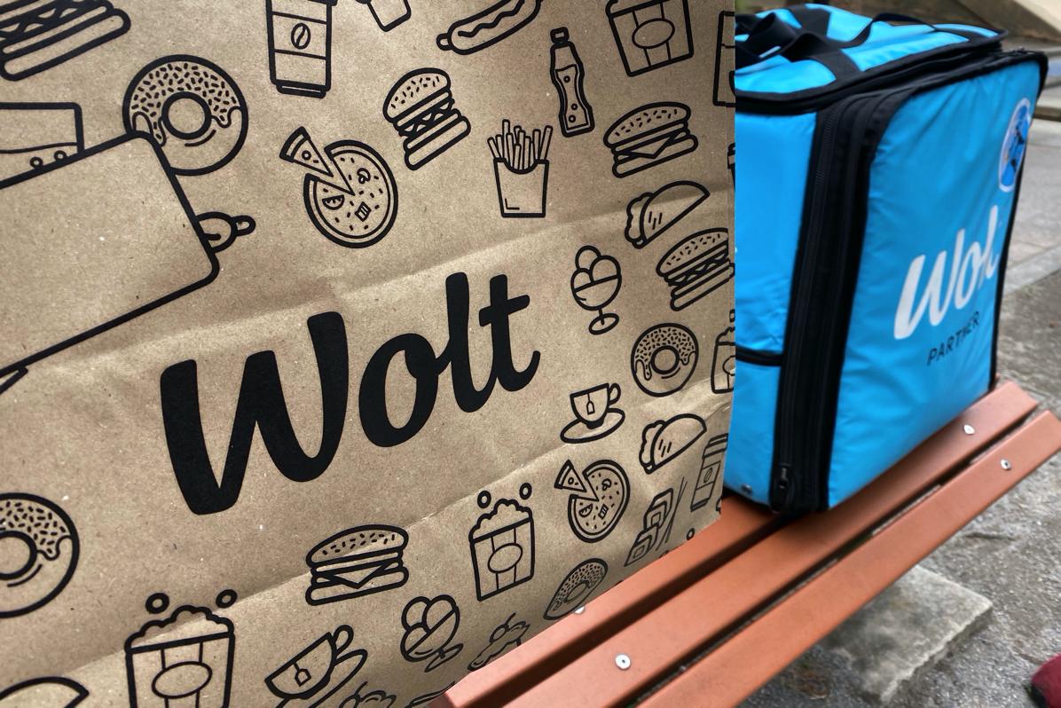 フードデリバリーサービス「Wolt」を注文