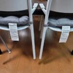 IKEAでロボット掃除機対応のダイニングテーブルとイスを購入