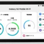 UQ、初の5Gルーター「Galaxy 5G Mobile Wi-Fi」発売、auの4G LTEも追加料金なしで月額約5,000円から