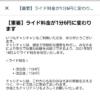 チャリチャリが利用料金を1分4円→6円に値上げ、5月18日から