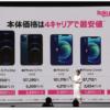 【楽天モバイル】iPhon SE・12シリーズ発売、新規契約で20,000ポイント還元