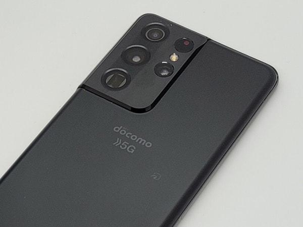 Galaxy S21 Ultra 5G:背面のカメラ部