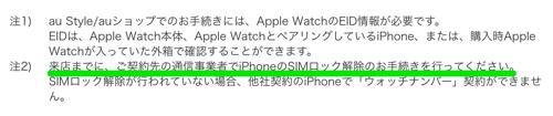 iPhoneはSIMロックの解除が必要